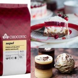 Ciocolata alba NAPAL 29,6%...
