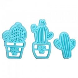 Set 3 decupatoare cactus
