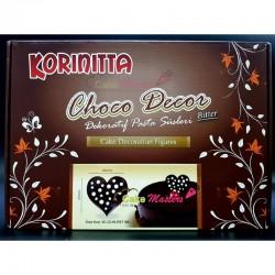 Decor din ciocolata Inima -...