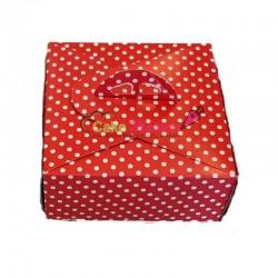Set 5 cutii tort Rosii cu...