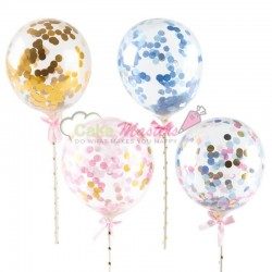 Set 4 baloane cu confetii...