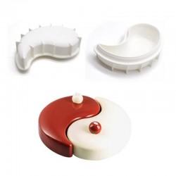 Forma de silicon Yin Yang