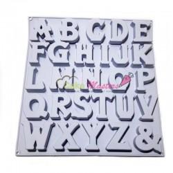 Forma de silicon alfabet Mare