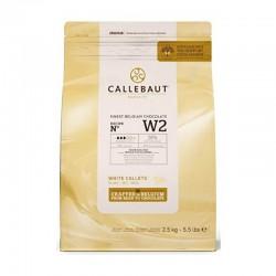 Ciocolata alba Callebaut W2...