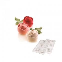 Forma de silicon Rosa cu 6...
