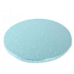 Cake drum rotund Baby Blue...