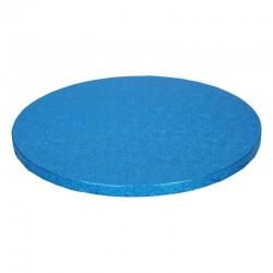 Cake drum albastru rotund...