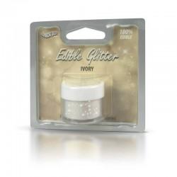 Glitter Rainbow Dust Ivory