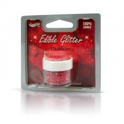 Glitter rosu Rainbow Dust...
