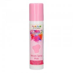 Spray Velvet roz FunCakes...