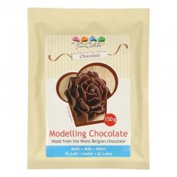 Ciocolata modelaj cu lapte...