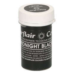 Colorant gel Midnight Black...