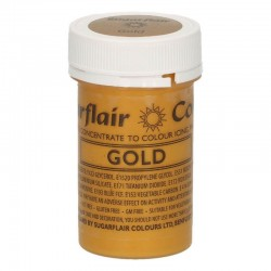 Colorant gel Satin Gold...