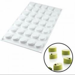 Forma de silicon Micro Oval