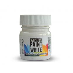 Colorant gel alb Rainbow Dust