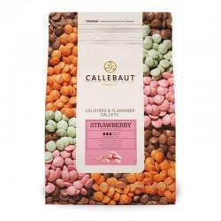 Ciocolata Capsuni Callebaut...