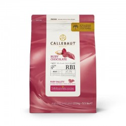Ciocolata Callebaut Ruby...