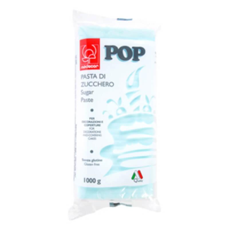 Pasta de zahar albastru deschis Pop Modecor - 1