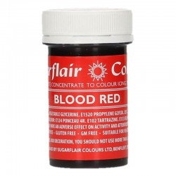 Colorant gel Blood Red...