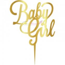 Topper Baby Girl pentru tort