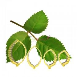Set 4 decupatoare frunze de...