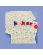 Mulaje litere și cifre